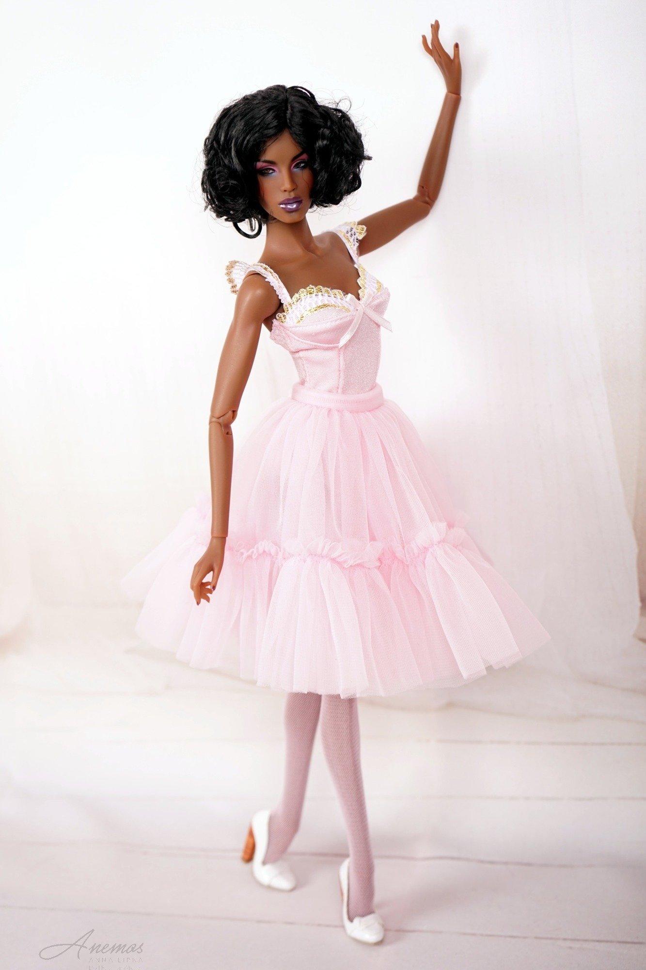 Light pink lingerie for 16