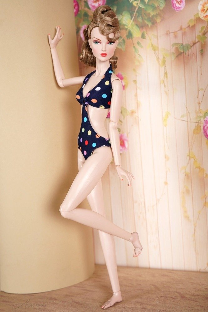 Swimsuit for Poppy Parker and Tulabelle Fashion Teen 4