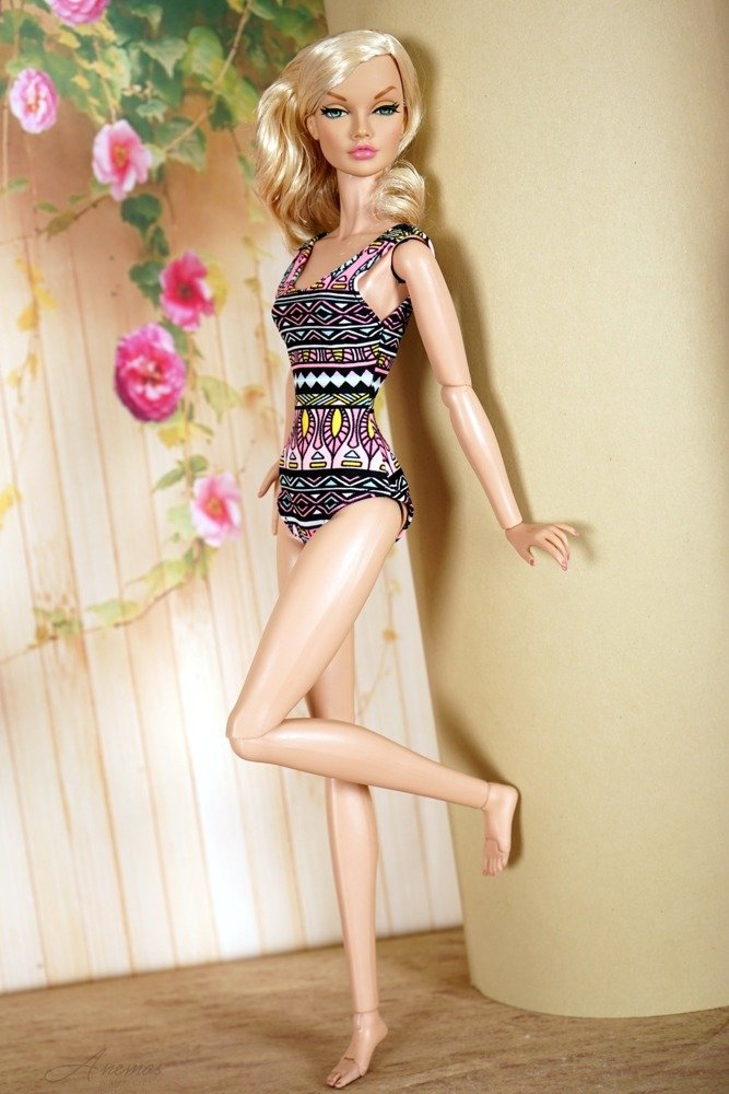 Swimsuit for Poppy Parker & Tulabelle Fashion Teen 6