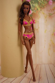 "Gold swimsuis collection for 16"" Kingdom Doll 3"