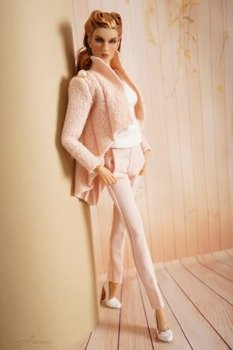 Light peach pants for Kingdom Doll 1
