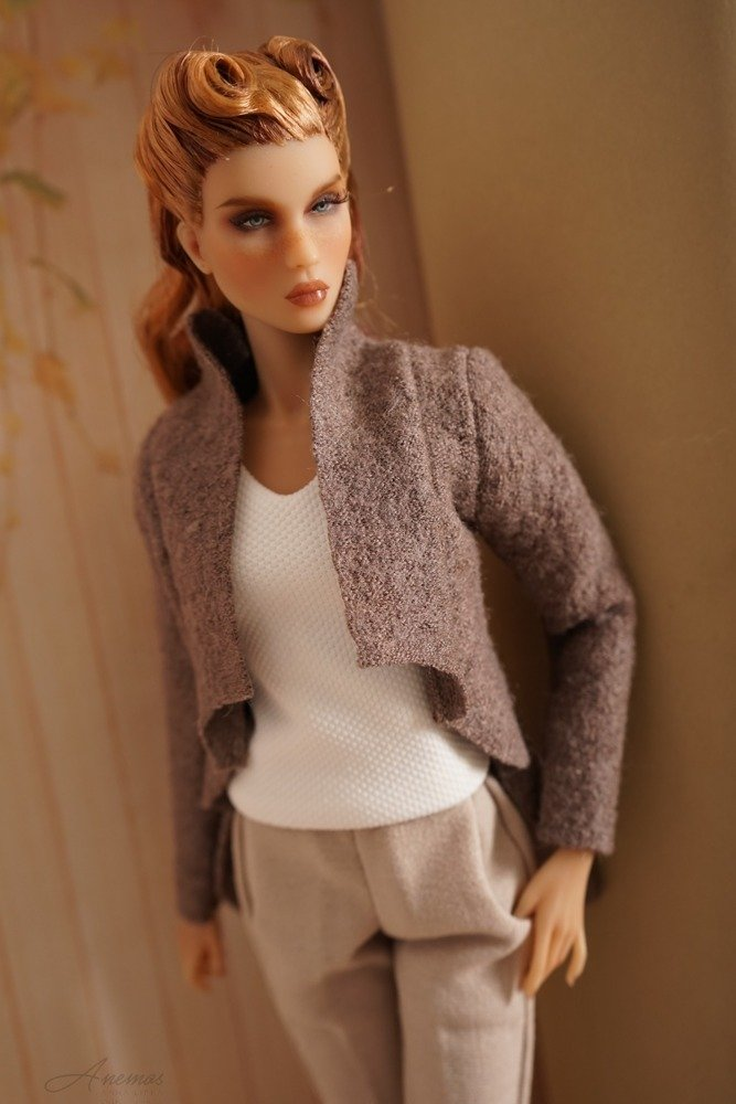 Brown jacket for Kingdom Doll 1