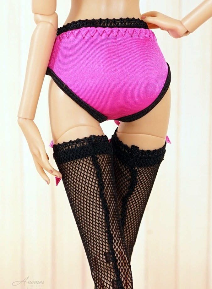 Pink Panties for 16 Kingdom Doll N.1