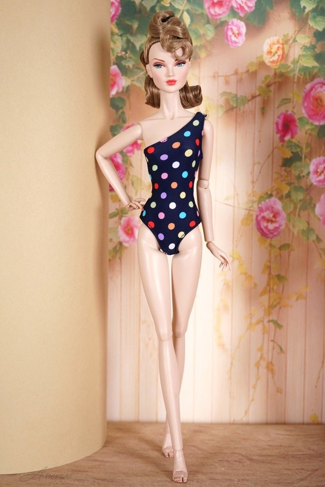 Swimsuit for Poppy Parker and Tulabelle Fashion Teen 2