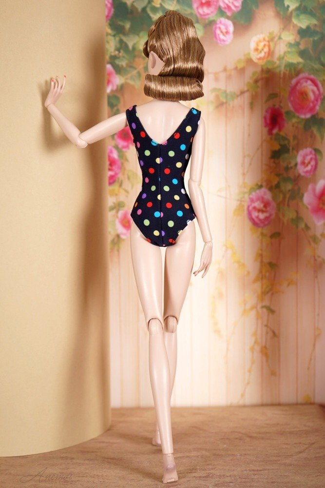Swimsuit for Poppy Parker and Tulabelle Fashion Teen 3