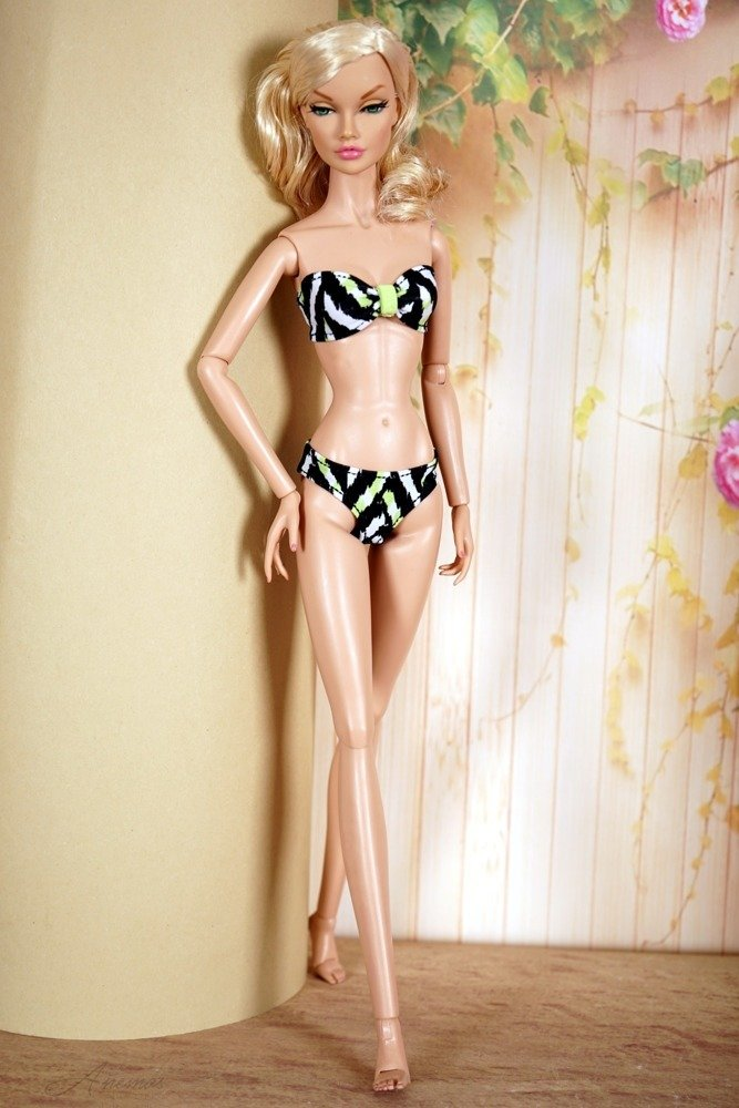 Swimsuit for Poppy Parker and Tulabelle Fashion Teen 8