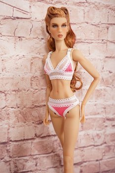 Candy Collection Lingerie set for KD Roseberry
